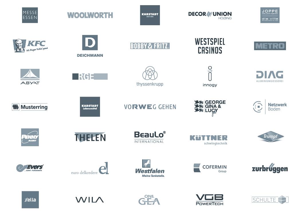 Liste der Agentur-Kunden